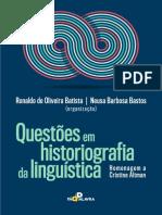 Questões Em Historiografia