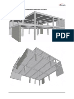 Reinforced Concrete Continuous Beam Analysis and Design (ACI 318-14)