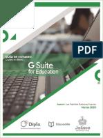 Guía de Estudio G Suite for Education