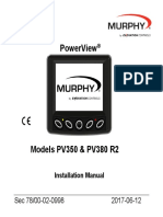 Murphy PV 380 Inst Guide