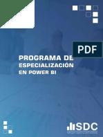Programa de Especializacion en POWER BI - social data consulting