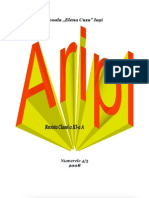 "Revista ""Aripi"" 2008"