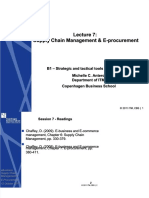 PDF Strategic and Tactical Tools for e Business Supply Chain Management e Procurement Compress