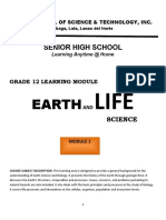 Earth and Life Science Module