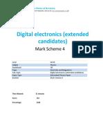 44.4 Digital Electronics Cie Igcse Physics Ext Theory Ms