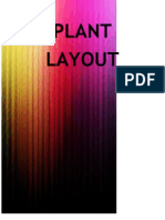 Plant layout Part I
