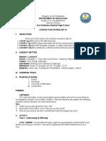 demo lesson plan pdf