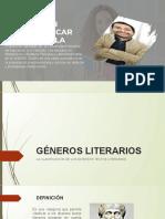 1 CHA GÉNEROS LITERARIOS