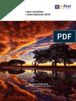 InFirst Société de Commerce International 2019