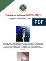 profil alumni 15 orang