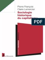 Sociologie historique du capitalisme - Pierre François, Claire Lemercier