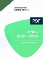 Plan national énergie-climat 2021-2030 (2020)