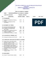 Presupuesto muro de gaviones - CORAASAN-CP-002-2018