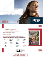 Présentation des Discovery Week