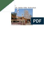 Peddamma Gudi, Jubilee Hills, Hyderabad