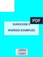Worked Examples for Eurocode 2 Final