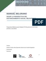 Manuel Belgrano desde la perspectiva del distanciamiento social obligatorio