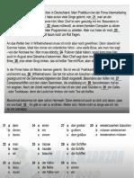 Telc B2 Prüfung Modelltest (1) B2 allgemein Sprachbausteine