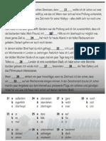 Telc B2 Prüfung Modelltest (7) B2 allgemein Sprachbausteine