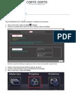 Backup e Instalação Corte Certo_v14