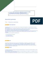 Notariat - Convention Collective Nationale Du 8 Juin 2001 Revisee Par Accord Du 19 Fevrier 2015