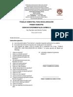Trabajo Semestral Para Regularización Quimica i Nuevo