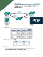 3.3.2.3 Lab - Configuring Rapid PVST, PortFast, and BPDU Guard
