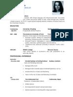 Resume AMV2