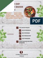 Kel 7 SDG BAHAN PANGAN