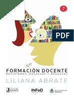 Formación docente - Liliana Abrate