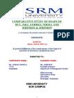 Comparative Study of Soaps of HUL, P&G, Godrej, Nirma and Johnson & Johnson