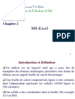 Ch2 MS  Excel