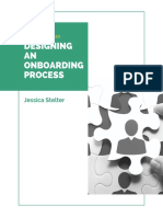onboarding consulting report