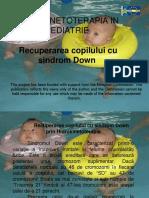 HIDROKINETOTERAPIA IN PEDIATRIE - Curs5