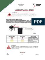 Manual de Instalacion ST310U Estandar