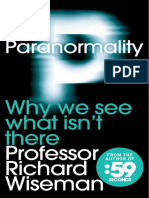 Extract from Paranormality by Professor Richard Wiseman
