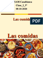Spanish-comidas