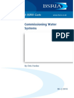 Bsria Guide 2-2010 (Commissioning water systems)