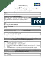 Syllabus Aplicații ale hidrokinetoterapiei în staţiuni balneoclimaterice RO