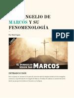 EL EVANGELIO DE MARCOS Y SU FENOMENOLOGÍA - Obed Capois