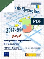 PO Canarias 2014-2020 Informe Ejecucion 2016