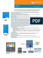 Brochure Convertisseur / Chargeur MultiPlus 800VA - 5kVA