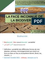 Biodiversité Etudiants Janvier 2021