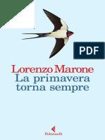 Lorenzo Marone La Primavera Torna Sempre