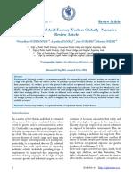 Dental Diseases of Acid Factory Workers Globally
