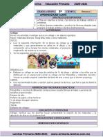 Octubre - 3er Grado Artes (2020-2021)