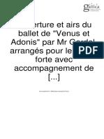 Vénus et Adonis-Gardel