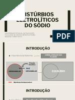 DISTÚRBIOS DO SÓDIO