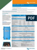 Brochure MultiPlus 500VA - 1600VA