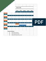 Timeline Rencana Kerja - Dwi Sulistiani